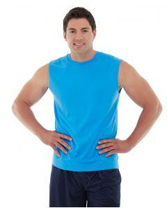 Sinbad Fitness Tank-XL-Blue